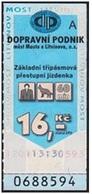Czech Republic - Most A Litvinov; 2004 - 16 Kč, Used - Europe