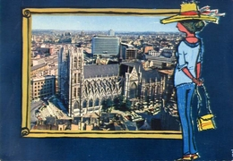 Souvenir De Bruxelles - Formato Grande Non Viaggiata – E 4 - Cartoline
