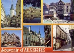 Souvenir D'auxerre - - Yonne - Formato Grande Non Viaggiata – E 4 - Cartoline