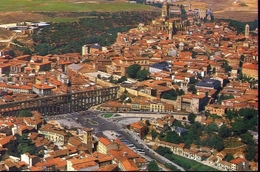 Segovia - Vista Aerea - Formato Grande Viaggiata – E 4 - Cartoline
