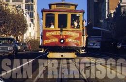 San Francisco - Cable Car - Formato Grande Viaggiata Mancante Di Affrancatura – E 4 - Cartoline