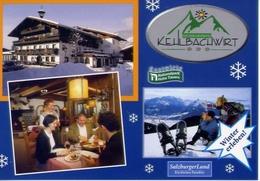 Salzburger Land - Niedernsill Bei Am See Jesdorferstrabe - Formato Grande Non Viaggiata – E 4 - Cartoline