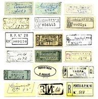 PORTUGAL, Registration Cancels - Postmark Collection