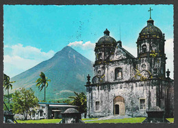Philippines - Old Church And Mayon - Used - Philippines