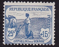 V/Verso ** N° 151 Neuf ** Signé C.CALVES - 1917/1918 - - France