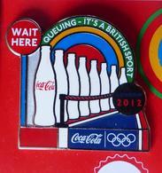 Londres 2012 Jeux Olympiques 1 Pins COCA COLA A VOIR - Coca-Cola