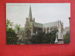 Ireland > Dublin   St Patricks Cathedral      Ef 2887 - Dublin