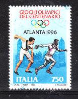 Italia   -   1996. Lancio Del Disco. Discus Throw. - Summer 1996: Atlanta