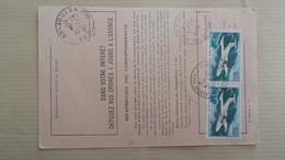 Ordre De Réexpédition:  Toulon Principal  Annexe  Mobile 1 - Marcophilie (Lettres)