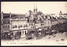 CPA - MOULINS (03 - ALLIER) - LA PLACE D'ALLIER (N° 97) - ANIMEE - Moulins