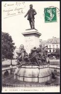 CPA - LE MANS (72 - SARTHE) - LE MONUMENT DE CHANZY (N° 60) - ANIMEE - Le Mans