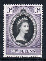 SAINT HELENA 1953 Coronation: Single Stamp UM/MNH - Saint Helena Island