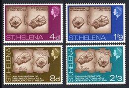 SAINT HELENA 1968 30th Anniversary Of Tristan Da Cunha As A Dependency: Set Of 4 Stamps UM/MNH - Saint Helena Island