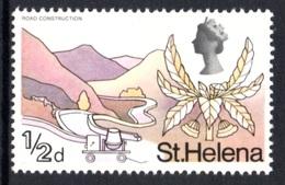 SAINT HELENA 1968 Definitive/St Helena Flora ½d: Single Stamp UM/MNH - Saint Helena Island