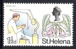 SAINT HELENA 1968 Definitive/St Helena Flora 1½d: Single Stamp UM/MNH - Saint Helena Island