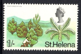 SAINT HELENA 1968 Definitive/St Helena Flora 1s: Single Stamp UM/MNH - Saint Helena Island