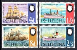 SAINT HELENA 1969 Mail Communications: Set Of 4 Stamps UM/MNH - Saint Helena Island
