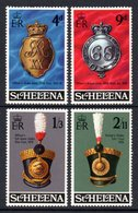 SAINT HELENA 1970 Military Equipment (1st Series): Set Of 4 Stamps UM/MNH - Saint Helena Island