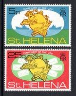 SAINT HELENA 1974 Centenary Of The UPU: Set Of 2 Stamps UM/MNH - Saint Helena Island
