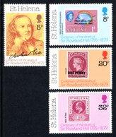 SAINT HELENA 1979 Death Centenary Of Sir Rowland Hill: Set Of 4 Stamps UM/MNH - Saint Helena Island