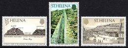 SAINT HELENA 1979 150th Anniversary Of The Inclined Plane: Set Of 3 Stamps UM/MNH - Saint Helena Island