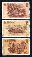 SAINT HELENA 1980 Centenary Of Empress Eugenie's Visit: Set Of 3 Stamps UM/MNH - Saint Helena Island
