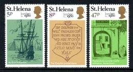 "SAINT HELENA 1980 ""London 1980"" International Stamp Exhibition: Set Of 3 Stamps UM/MNH - Saint Helena Island"