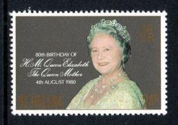 SAINT HELENA 1980 80th Birthday Of Queen Elizabeth The Queen Mother: Single Stamp UM/MNH - Saint Helena Island