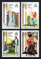 SAINT HELENA 1981 Duke Of Edinburgh Award Scheme: Set Of 4 Stamps UM/MNH - Saint Helena Island