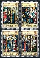 SAINT HELENA 1984 Christmas: Life Of St Helena (2nd Series): Set Of 4 Stamps UM/MNH - Saint Helena Island