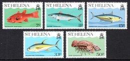 SAINT HELENA 1985 Marine Life: Set Of 5 Stamps UM/MNH - Saint Helena Island