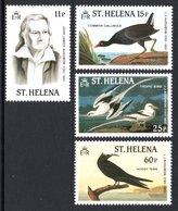 SAINT HELENA 1985 Birth Bicentenary Of John J Audubon: Set Of 4 Stamps UM/MNH - Saint Helena Island