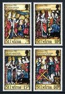 SAINT HELENA 1985 Christmas: Life Of St Helena (3rd Series): Set Of 4 Stamps UM/MNH - Saint Helena Island