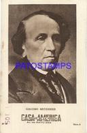 91013 PUBLICTY COMMERCIAL CASA AMERICA EL HOGAR DE LA MUSICA BS AS ARTIST GIACOMO MEYERBEER COMPOSER OPERA NO POSTCARD - Werbepostkarten