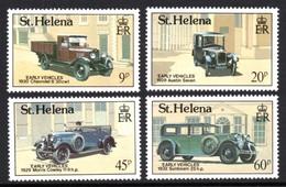 SAINT HELENA 1989 Early Vehicles: Set Of 4 Stamps UM/MNH - Saint Helena Island