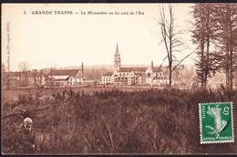 CPA - GRANDE TRAPPE (61 - ORNE) - LE MONASTERE VU DU COTE DE L'EST (N° 5) - ANIMEE - Francia