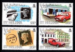 SAINT HELENA 1990 Penny Black Anniversary/Stamp World London '90: Set Of 4 Stamps UM/MNH - Saint Helena Island
