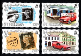SAINT HELENA 1990 Penny Black Anniversary/Stamp World London '90: Set Of 4 Stamps UM/MNH - St. Helena