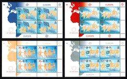 SAINT HELENA 2006 50th Anniversary Of First Europa Stamps: Set Of 4 Sheets UM/MNH - Saint Helena Island