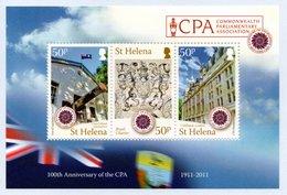 SAINT HELENA 2011 Centenary Of Commonwealth Parliamentary Association: Miniature Sheet UM/MNH - Saint Helena Island