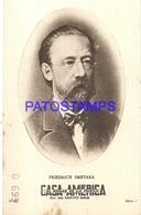 91020 PUBLICTY COMMERCIAL CASA AMERICA EL HOGAR DE LA MUSICA BS AS ARTIST FRIEDRICH SMETANA COMPOSER NO POSTCARD - Pubblicitari