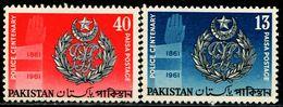 PK0008 Pakistan 1961 Police Centennial 2V MNH - Pakistan