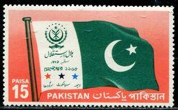 PK0011 Pakistan 1967 Flag 1V MNH - Pakistan