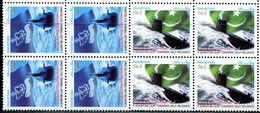 PK0017 Pakistan 2003 Navy Submarine And National Flag 2V Company MNH - Pakistan