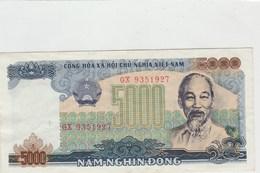 BILLET DE BANQUE  VIETNAM..5000 - Vietnam