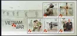 AUSTRALIA, 2016 VIETNAM WAR MINISHEET MNH - 2010-... Elizabeth II
