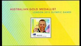 AUSTRALIA, 2016 AUSSIE GOLD MEDALLIST MINISHEET MNH - 2010-... Elizabeth II