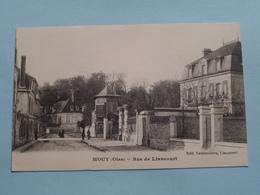 Rue De LIANCOURT ( Edit. Vandenhove / Edia ) Anno 1918 ( Voir Photo ) ! - Mouy
