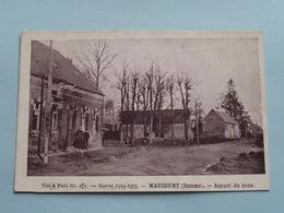 MAUCOURT (Somme) Aspect Du Pays / Guerre 1914-15 ( Visé Paris N° 251 ) Anno 19?? ( Voir Photo ) ! - Montdidier