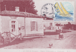 Carte  La  POSTE  A  100  Ans   LE  PORGE   1993 - Poste